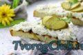 Как сделать бутерброды с творогом или творожным сыром