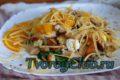 Вкусный диетический творожный салат с курицей