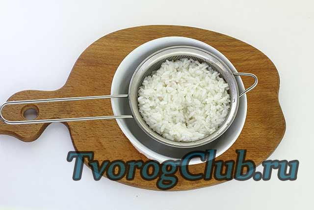 Творожная запеканка с рисом в духовке или мультиварке.