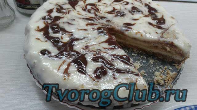 Змечательный пирог-торт-ватрушка готов!